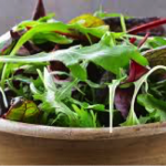 Edible Weeds Salad