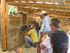 Chris Borton straw bale workshop