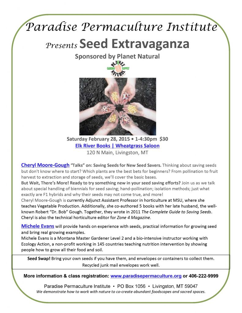 Seed Extravaganza 28Feb2015-PPI