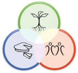 Three Permaculture Ethics. https://permacultureprinciples.com/wp-content/uploads/2013/02/shop_principles_poster_800s1.jpg This work is licensed under the Creative Commons Attribution-Noncommercial-No Derivative Works.