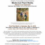 2018 Medicinal Plant Walks with Bev Axelsen